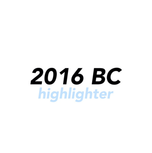 2016 Best cosme [highlighter]
