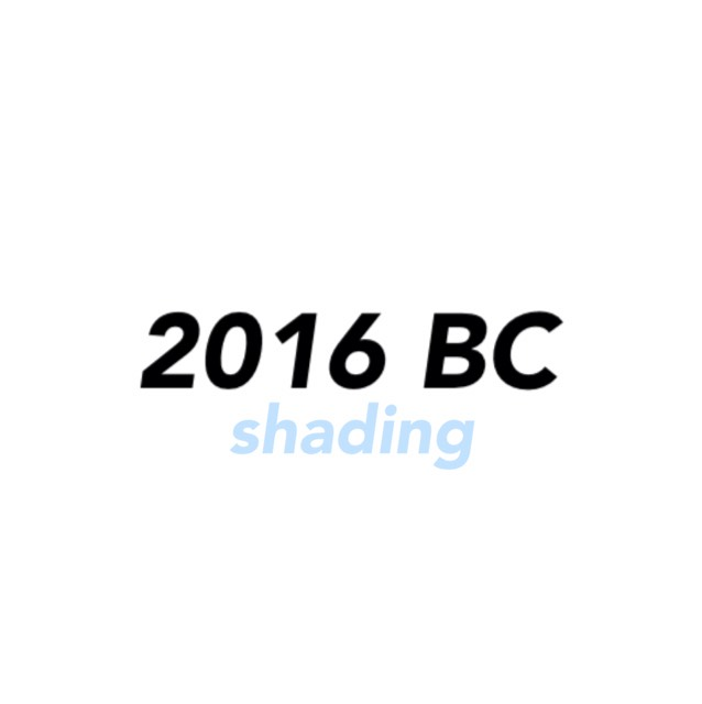 2016 Best cosme [shading]