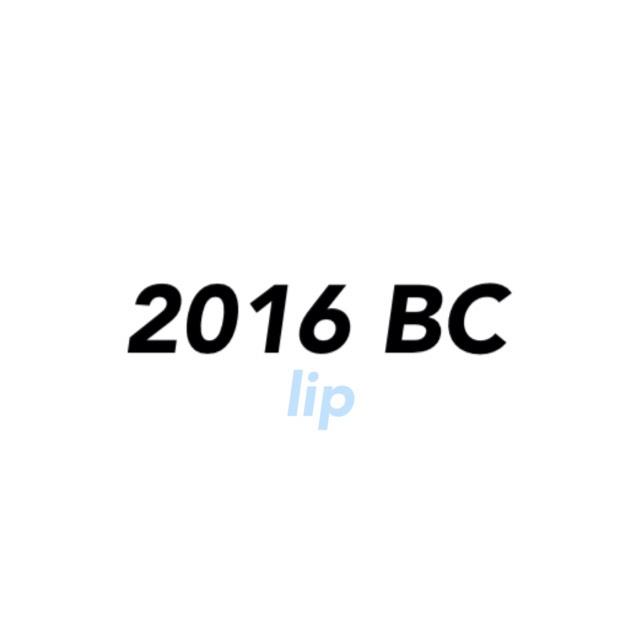 2016 Best cosme [lip]