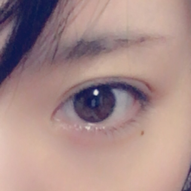 私のdailyeyemakeのBefore画像