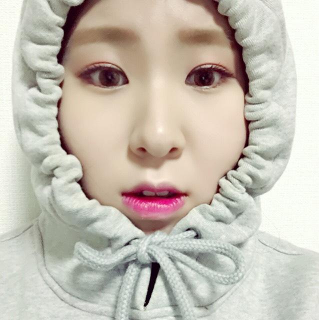 韓国留学生のマネっこメイクのAfter画像