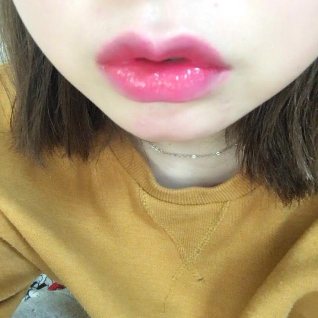 リップはピンクでジュワッとしたかんじに♡  ※マスカラの写真忘れました:(
