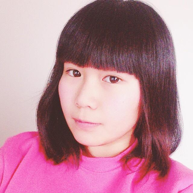 ピンクメイクのBefore画像