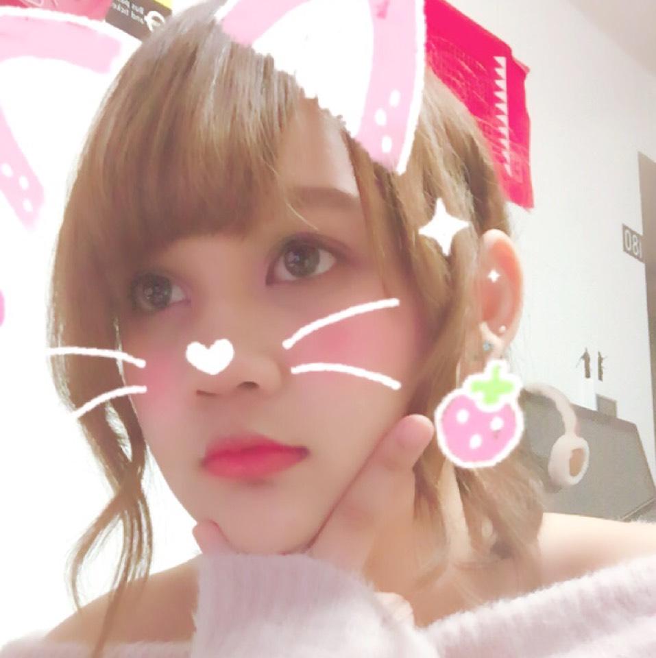 バレンタインメイク(ピンク)のAfter画像