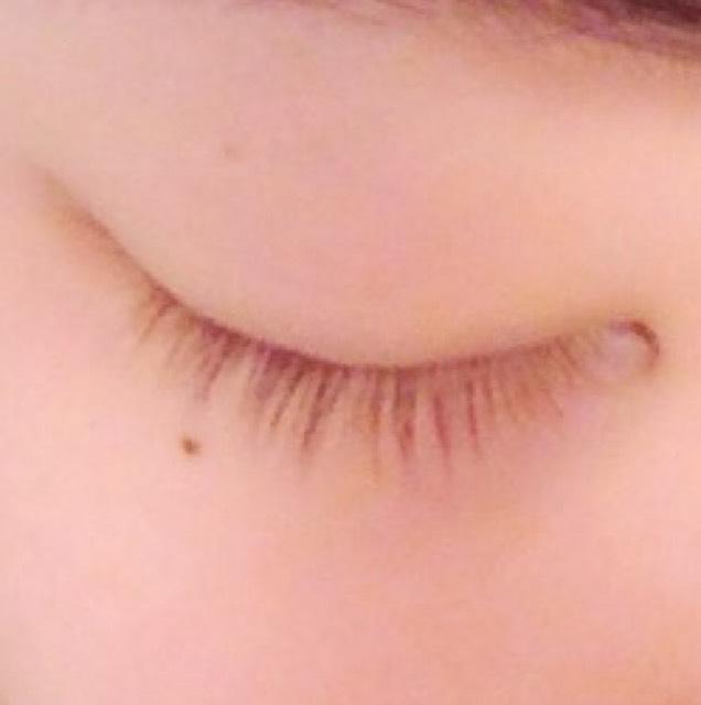 裸眼ナチュラルたれ目メイク♡のBefore画像