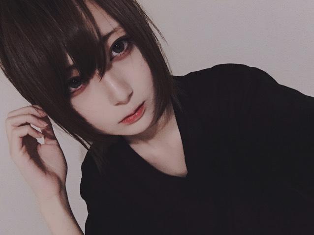 男装風(?)メイク