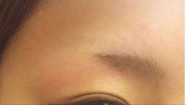 2種類の眉毛の書き方!のBefore画像