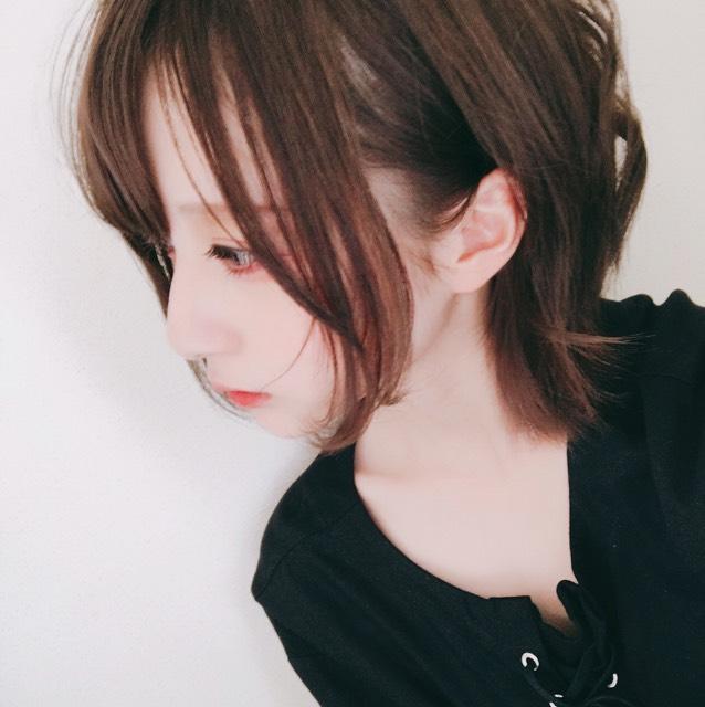 髪型をセットして完成です!