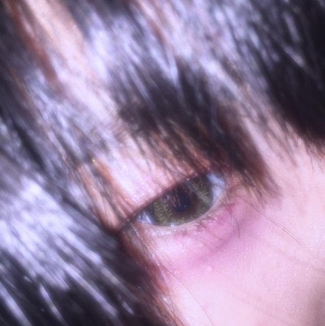メンヘラ風のおめめ~のBefore画像