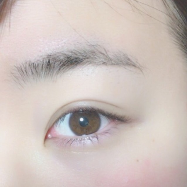 私的 眉毛の作り方