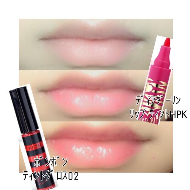血色感のいい唇にします! 濃すぎず薄すぎず可愛らしい唇がこのメイクにはあいます♡