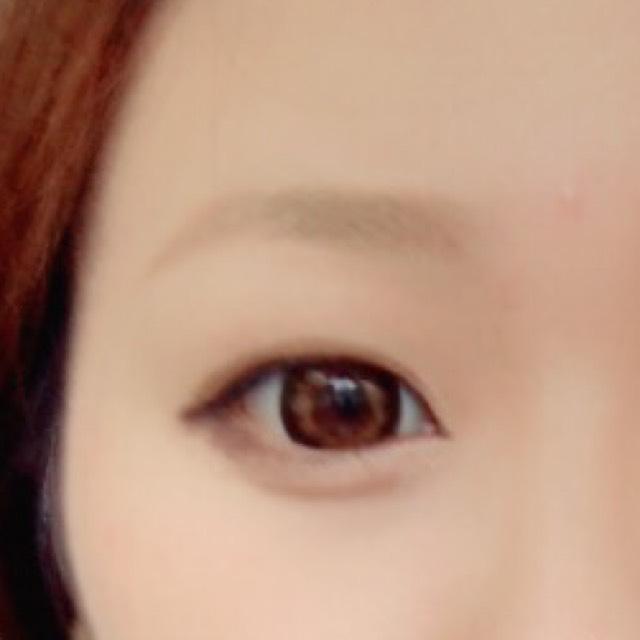 目と眉毛さえ ちゃんとしとけば大丈夫♪