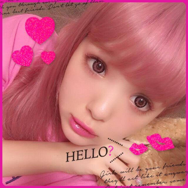 ピンクメイク♡