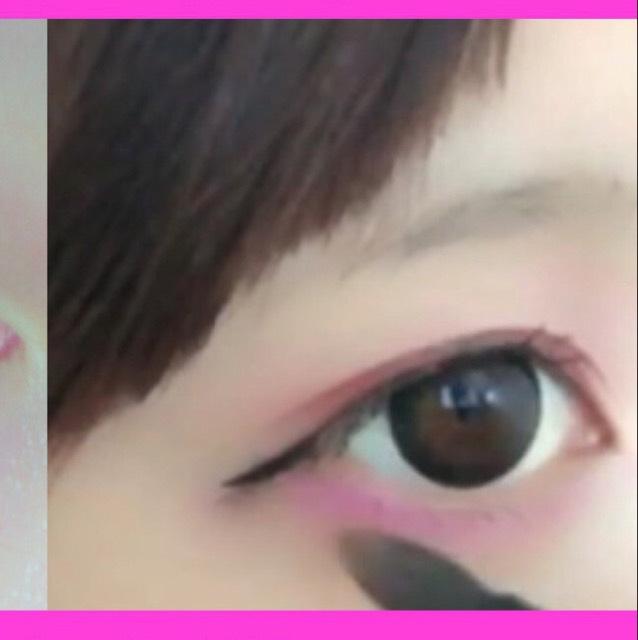 ピンクしばりメイク 【YouTubeあり】のAfter画像