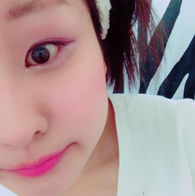ピンク系メイクのAfter画像