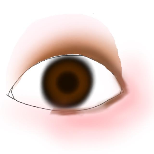 そして、SUGAOのスフレ感チークを目の下にぽんぽんと少し濃いめに馴染ませていきます