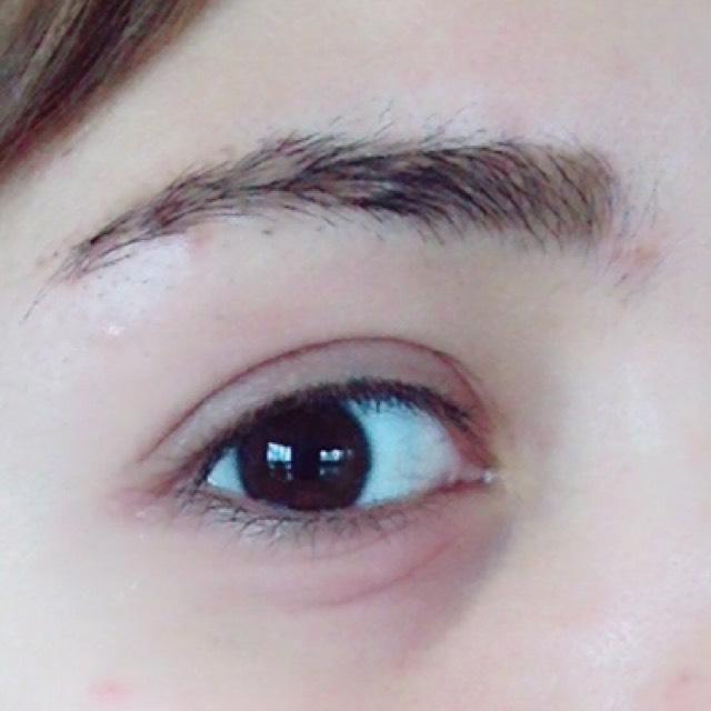 プチール 眉ティントレポ(byちぇる)のAfter画像