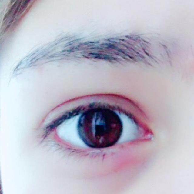 プチール 眉ティントレポ(byちぇる)のBefore画像
