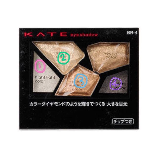 KATEのカラーシャスダイヤモンドを使います