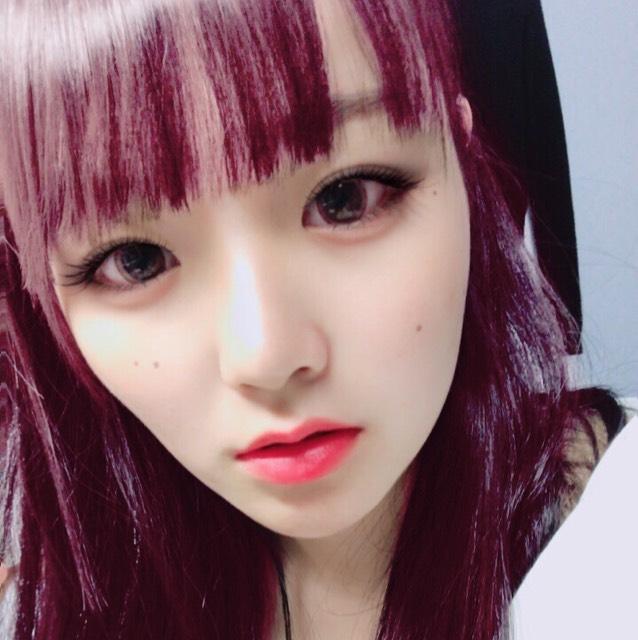 2NE1ボム風めいく、!