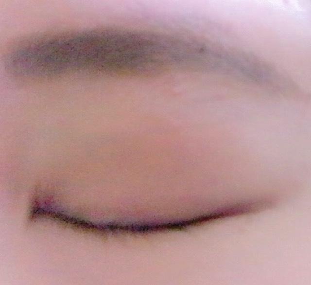 眉ティントを使って時短メイクのAfter画像