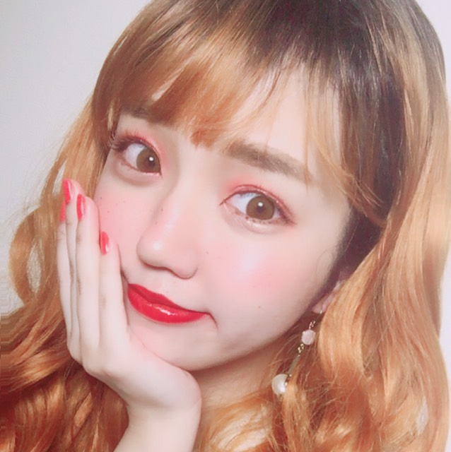 果実メイク♡夏のオレンジメイク