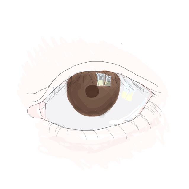ラブライブ 西木野 真姫ちゃん eye    試作のBefore画像