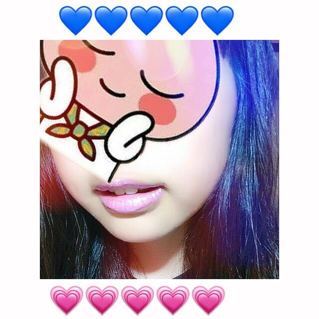 【余った紫シャドウ】♡青みピンクリップ♡