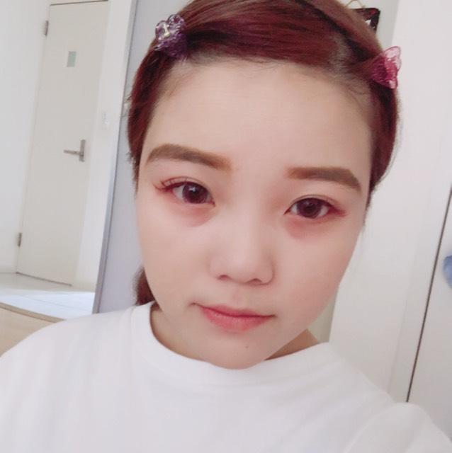 最近のピンクメイク♡(詳細)のBefore画像