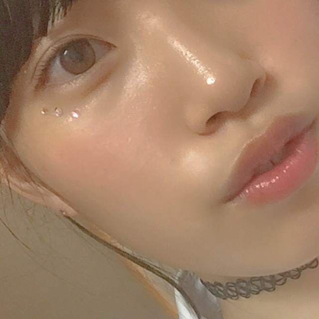 ② ハイライトとノーズシャドウを有効活用。離れ目とか顔に凹凸がない感じだからこれあるだけでかなり変わります