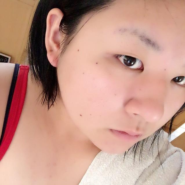 【毎日】半顔メイク【ハーフメイク】のBefore画像