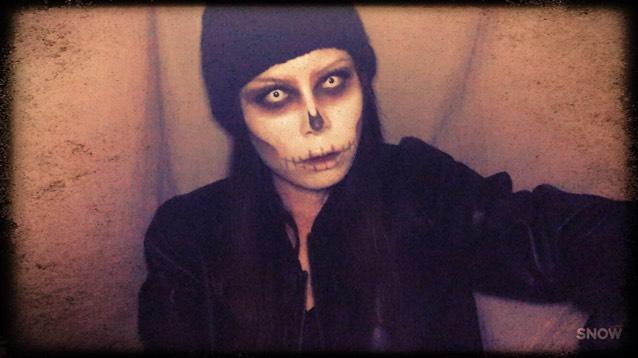 Halloween makeupのAfter画像