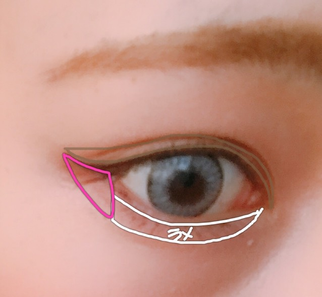 使用するコスメはいつもと変わらないのですが大幅に変えたポイントは「アイライン」です。これでもかってぐらいはねさせました。あと眉毛は明るめの色で…。もっと再現する場合は眉毛を目に近づけさせたら良いと思います◎