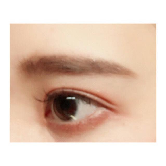 濃いめ眉毛の書き方のAfter画像