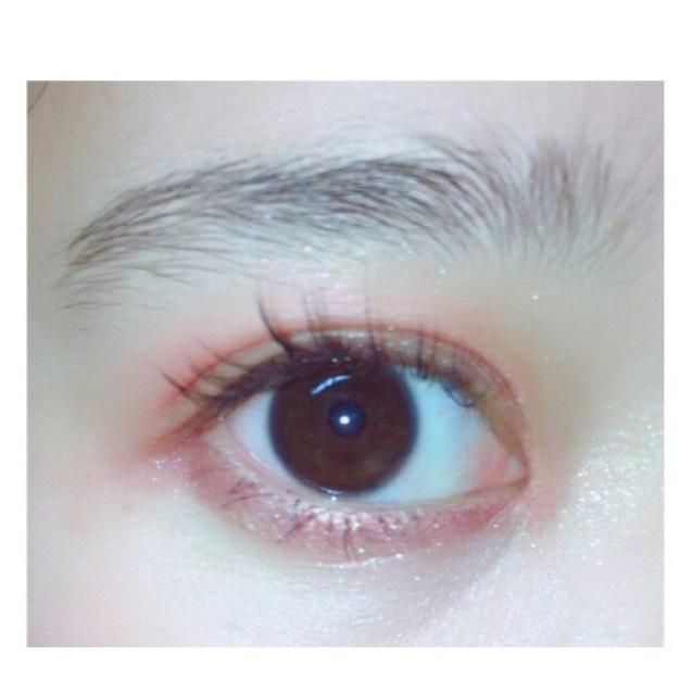 濃いめ眉毛の書き方のBefore画像