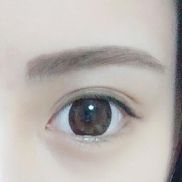 眉毛の書き方のAfter画像