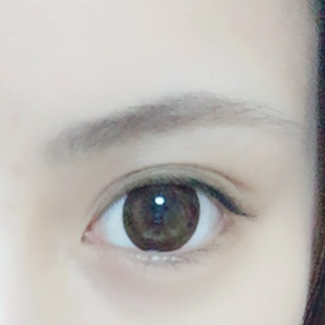 眉毛の書き方のBefore画像