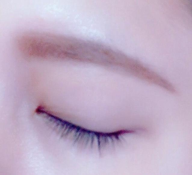 私流 眉毛の描き方(平行眉毛編)のAfter画像