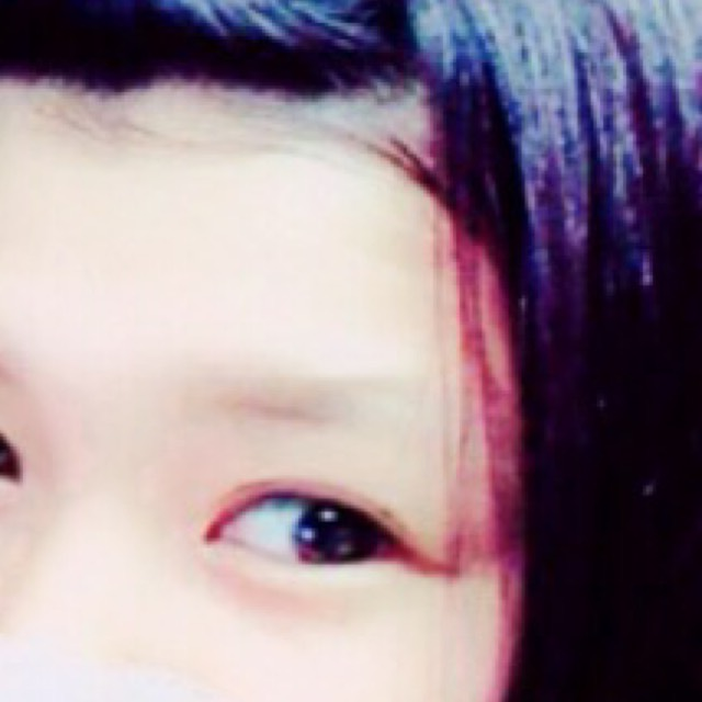 私流 眉毛の描き方(平行眉毛編)のBefore画像