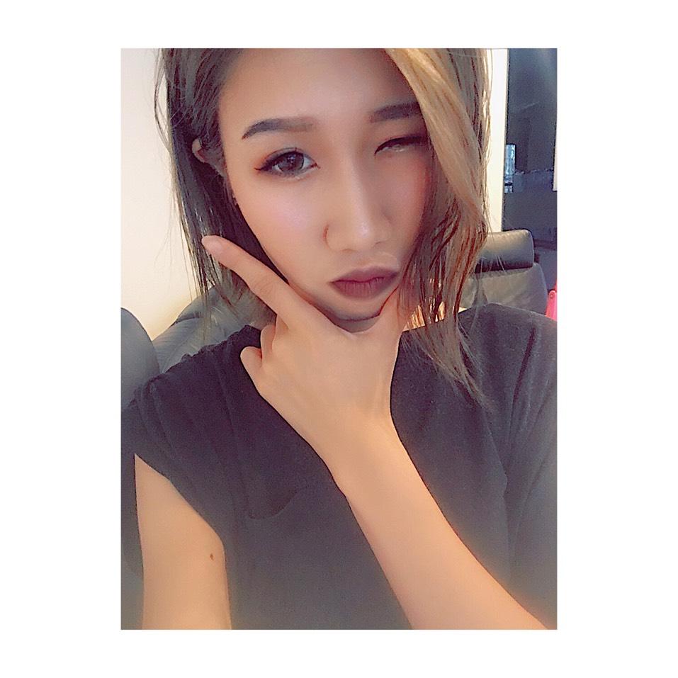 カラコンレビュー♡TeAmo クラッシーブラウンのAfter画像