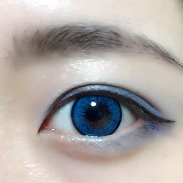 カラーメイク~青~
