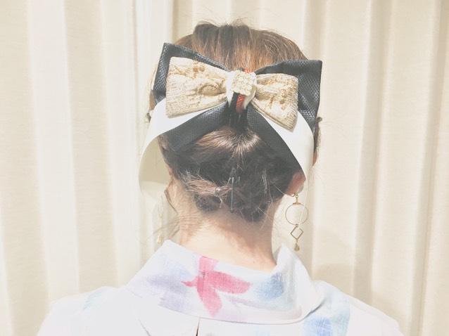 そして髪の毛をセットして女子力ばっちり( ˶˙º̬˙˶ )୨⚑︎