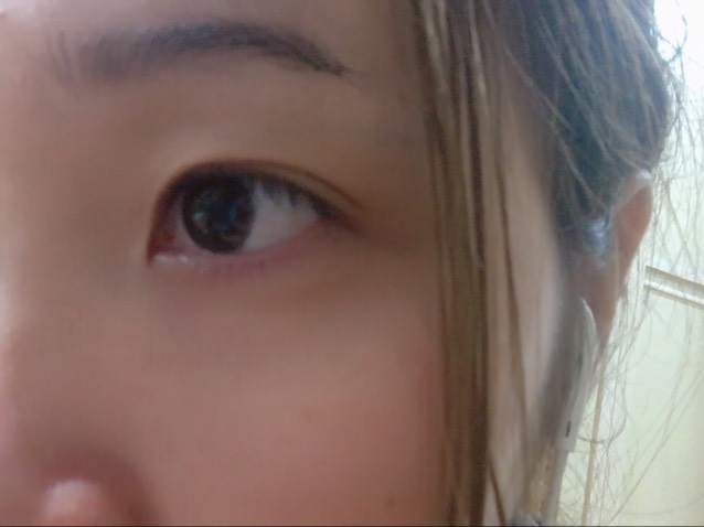 ★カラコン/ダイソーつけまのBefore画像