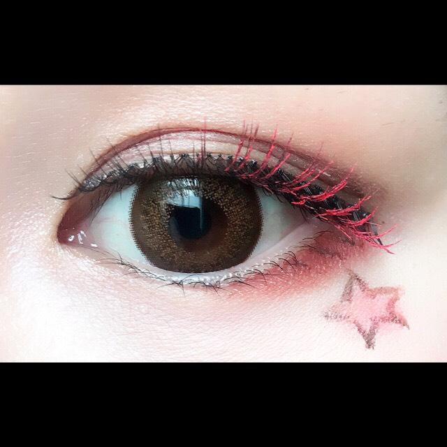 ピンク☆ハロウィンmakeのAfter画像