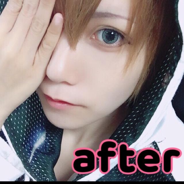 男装メイク(ショタ、少年系)のAfter画像