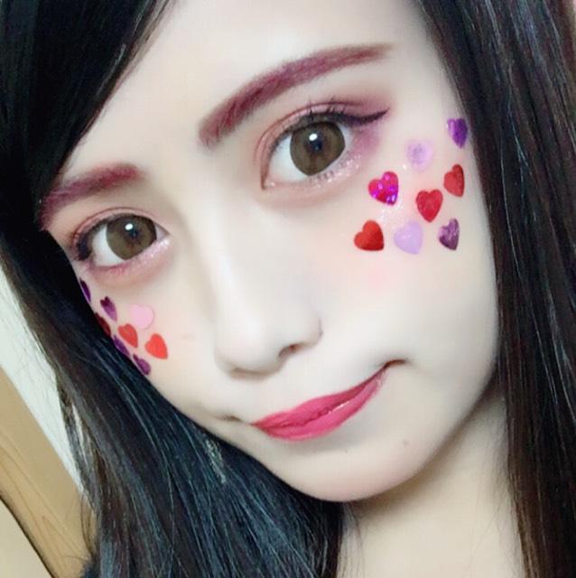 ハロウィンピンクメイクのAfter画像