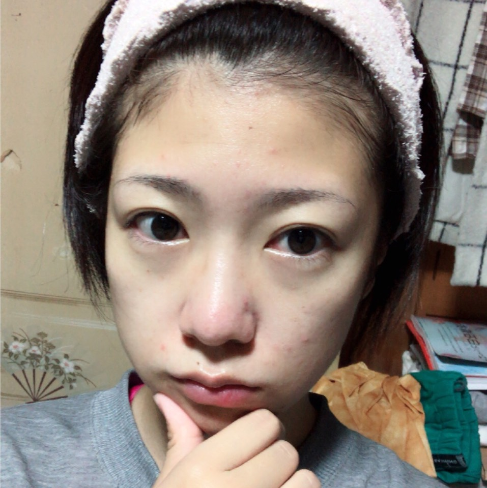 Today's natural makeのBefore画像