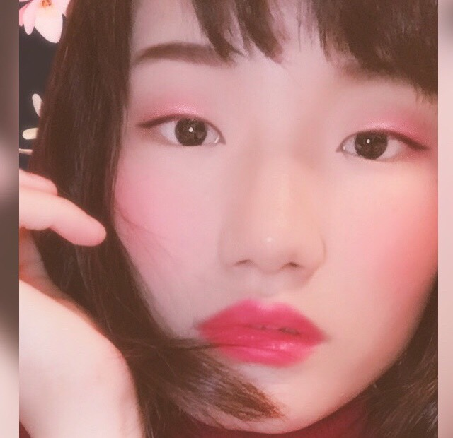 ワントーンメイク・ピンク