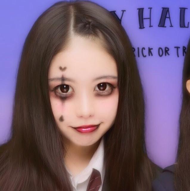 Halloween本番!簡単ピエロ風メイク!