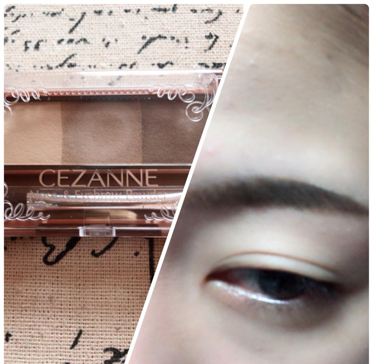 眉尻を濃く、眉頭を薄くなるように眉毛を書きます。 眉尻は先に眉毛の輪郭を濃い色で作ってからその内側を塗っていくと綺麗に仕上がる気がします。